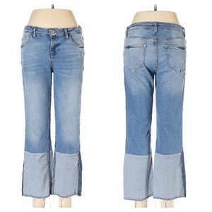 MNG Denim & Tees t Distressed Raw Hem Jeans 6